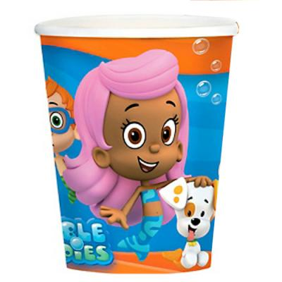 Bubble Guppies Paper Cups 8 Pack Birthday Party Cups