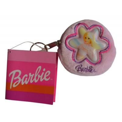 Barbie Key Chain Coin Purse Girls Plush Barbie Purse New Licensed