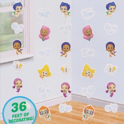 Bubble Guppies String Decorations Party Decorations