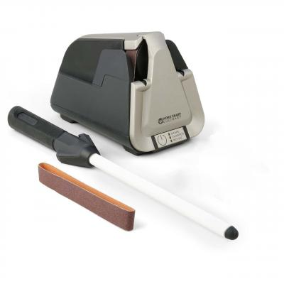 Work Sharp Culinary E5 Electric Kitchen Knife Sharpener w Ceramic Honing Rod
