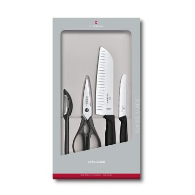 Victorinox Swiss Classic Kitchen Set, 4 pieces - BLACK   6.7133.4G