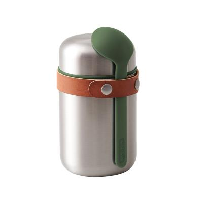 Black-blum Black + Blum Food Flask Olive 400ml