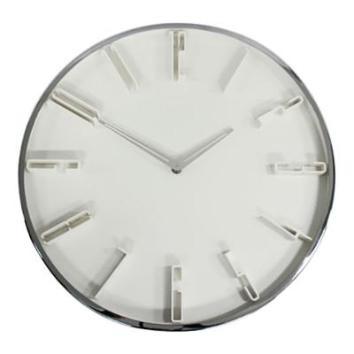 Clocks Premium 41cm Chrome Clock