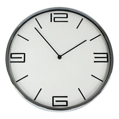 Clocks Premium 30cm Chrome Clock