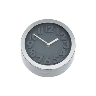Clocks Premium 22cm Grey Modern Clock