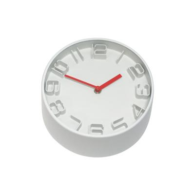Clocks Premium 22cm Red Statement Clock