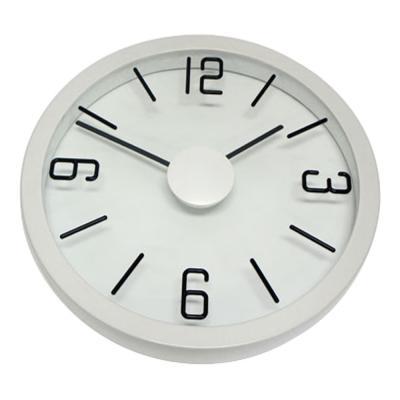 Degree White Float Clock 35cm