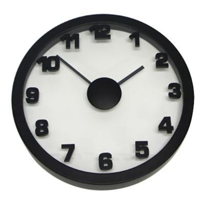 Degree Black Float Clock 50cm