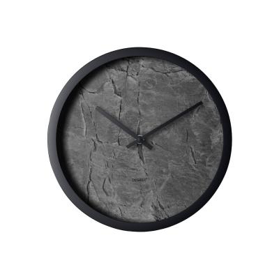 Clocks Degree Slate Distressed Clock 30cm