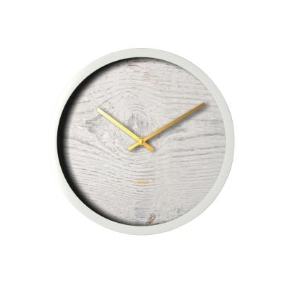 Clocks Degree White Wash Clock 30cm