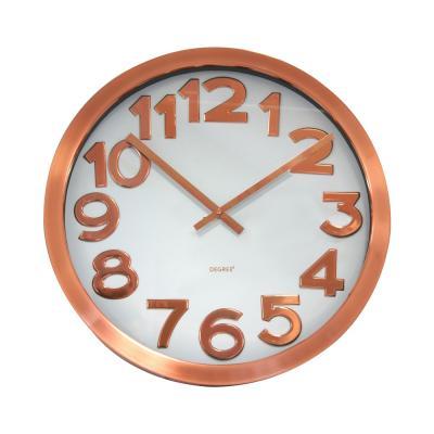 Degree Stelton Copper Clock 40cm