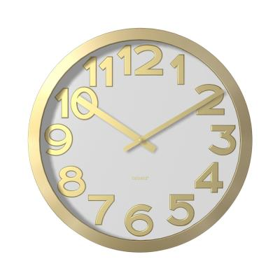Degree Stelton Gold Clock 40cm