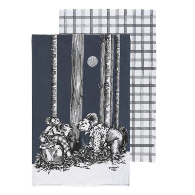 Ecology Blinky Bill Tea Towels Ink Set of 2