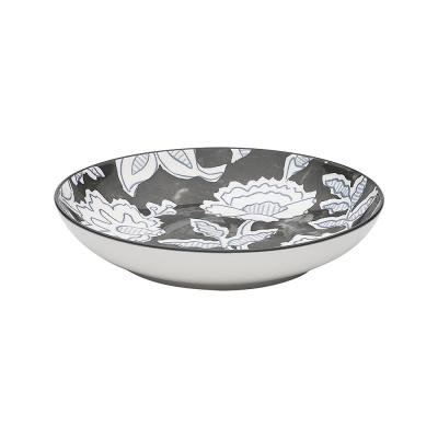 Ecology Tapestry Shallow Bowl 21.5cm