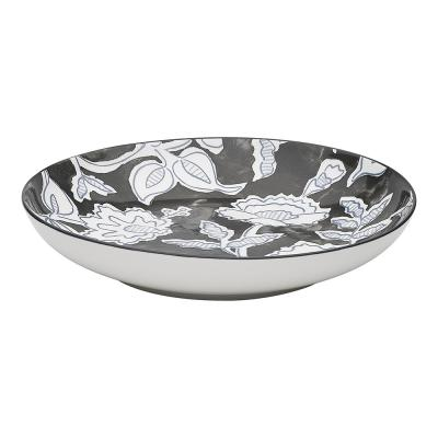 Ecology Tapestry Large Shallow Bowl 25.8cm