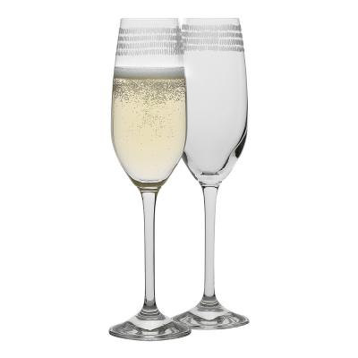 Ecology Dash Champagne Flute 205ml Set of 4