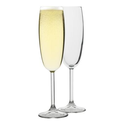 Ecology Otto Champagne Glass 220ml Set of 6 + 2