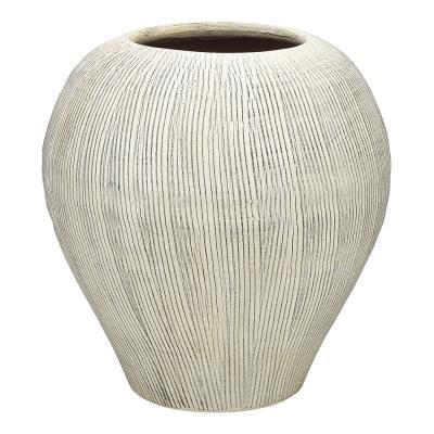 Ecology Linea Vase 29cm Terracotta