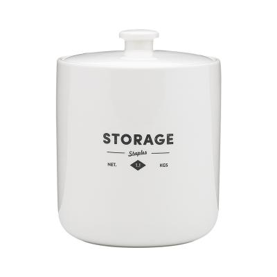 Ecology Staples Foundry Canister 1.1kg 13cm x13cm x 4.5cm