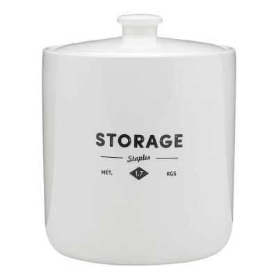 Ecology Staples Foundry Canister 1.7kg 14.8cm x14.8cm x 16.5cm