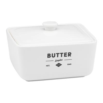 Ecology Staples Foundry Butter Dish & Lid 15.5cm x 13cm x 9.5cm