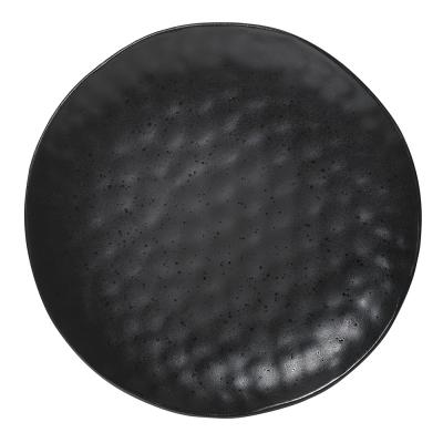 Ecology Speckle Dinner Plate Ebony 27cm
