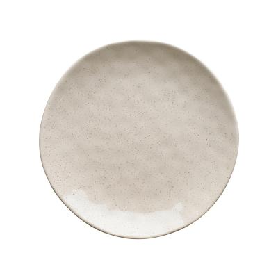Ecology Speckle Side Plate Oatmeal 21cm