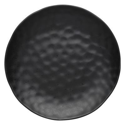 Ecology Speckle Round Platter Ebony 33cm Gift