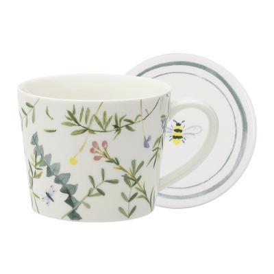 Ecology Greenhouse Mug & Coaster 360ml
