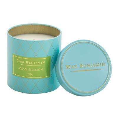 Max Benjamin Tea Candle Assam & Lemon 170g