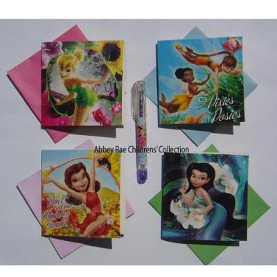 Disney Fairies Gift Cards & Gel Pen