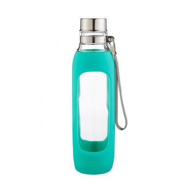 Contigo Purity Glass Water Bottle Jade 591ml