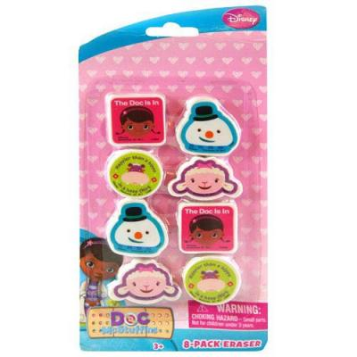 Doc Mc Stuffins Erasers Stationery Girls Party Favours New :icensed