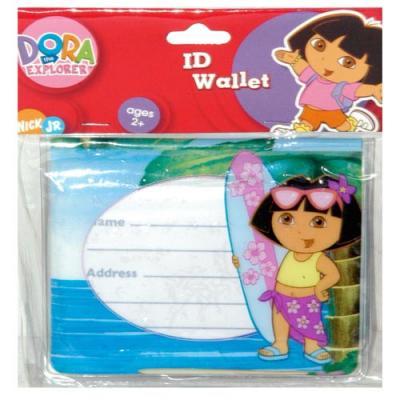 Dora the Explorer ID Wallet Bus Pass Holder