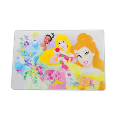 Disney Princess Placemat Girls Dinner Mat New Licensed Belle Aurora Jasmin