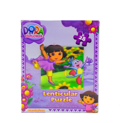 Dora the Explorer Girls Jigsaw Puzzle Boots the Monkey 3D 28 Piece New Licensed