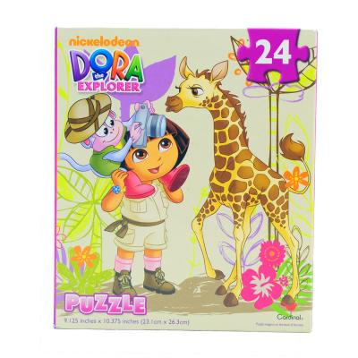 Dora the Explorer Jigsaw Puzzle 24 Piece Safari Adventure New Licensed