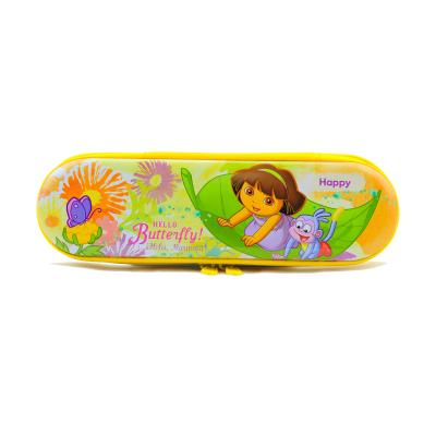 Dora the Explorer Tin Pencil Case Stationery New Licensed