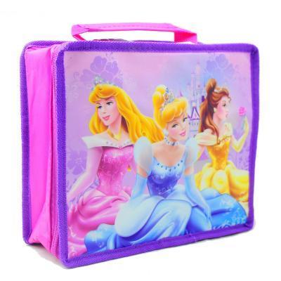 Disney Princess Insulated Cooler Bag Girls School Lunch Bag New Licensed