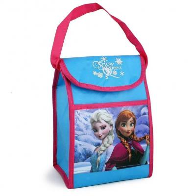Disney Frozen Snow Queen Non Woven Vertical Lunch Bag with Hangtag