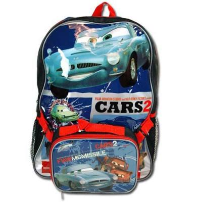 Disney Cars (Matter + Fin)  Backpack with Detachable Utility Bag New Licensed