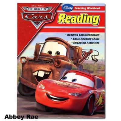 Disney Cars Reading Workbook