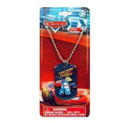 Disney Cars Dog Tag Necklace Boys Necklace New Licensed