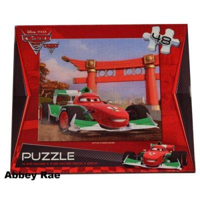 Disney Cars Jigsaw Puzzle 48 Piece Francesco Boys Puzzle New Licensed