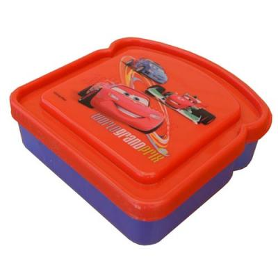 Disney Cars Sandwich Container Boys Lunch Container New Licensed