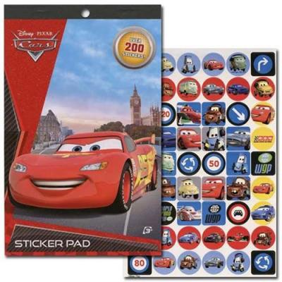 Disney Pixar Cars Stickers Cars Sticker Pad Party Favours Crafts New Licensed