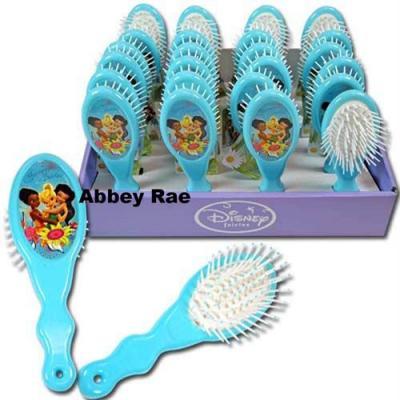Disney Fairies Hair Brush Tinkerbell Girls Hair Brush New Licensed