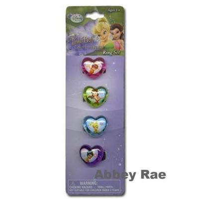 Disney Fairies Rings Tinkerbell Girls Jewellery New Cupcake rings Licensed