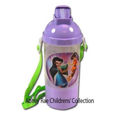 Disney Fairies Sip N Snack Drink Bottle