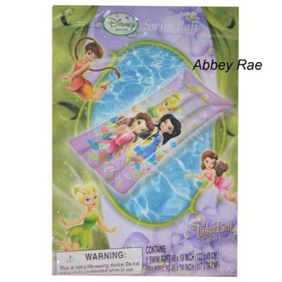 Disney Fairies Inflatable Swim Raft Tinkerbell Pool Toy 117cm long New Licensed